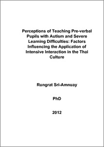 Phd thesis autism