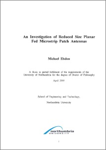 Phd thesis on patch antenna