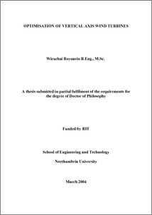 wind energy thesis pdf