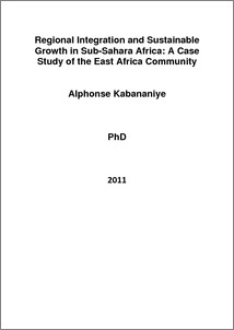 Phd thesis on regional integration