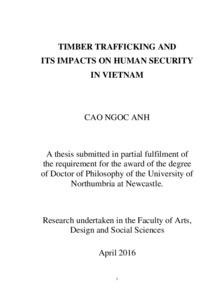 Phd thesis on human trafficking