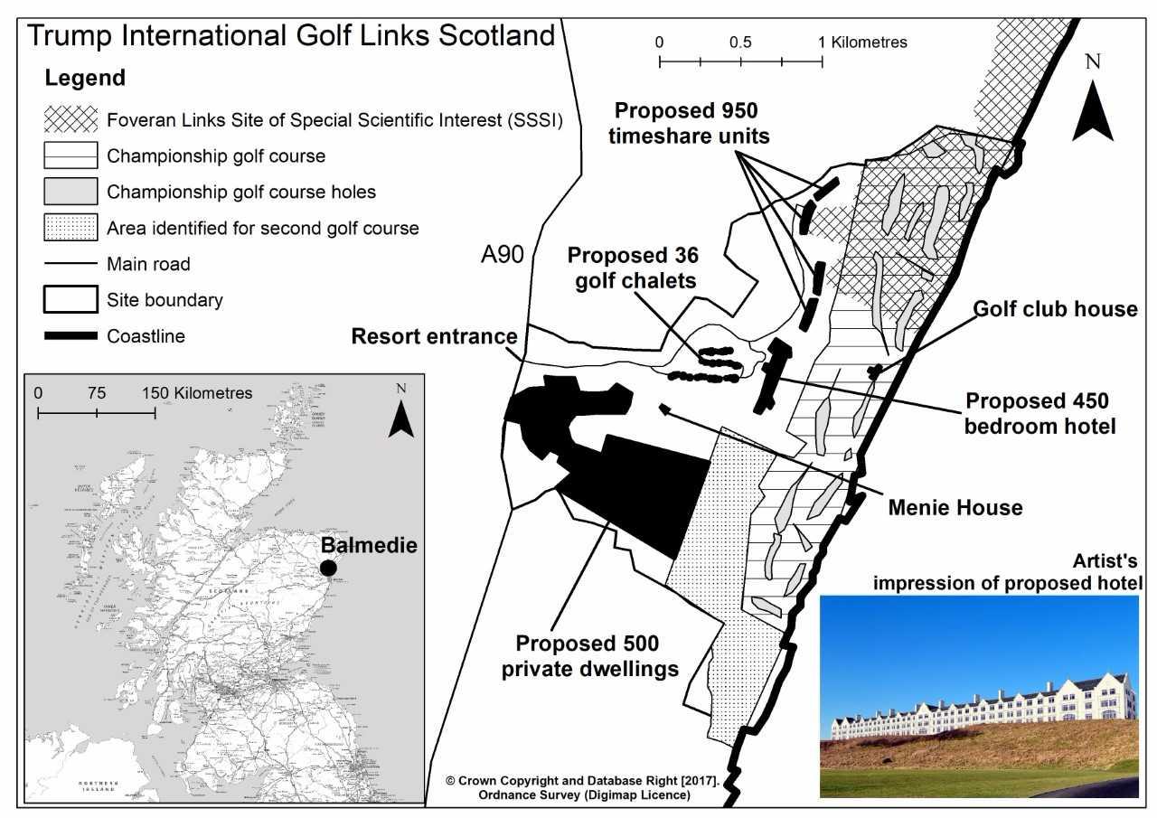 Donald Trump's Golf Resort in Aberdeenshire, Scotland: The ... on golf austria map, golf italy map, golf spain map, golf in edinburgh, golf in london, battle of culloden map, scotch whisky map, british open map, golf new zealand map, st andrews map, golf portugal map, golf course map, fife map, golf usa map,