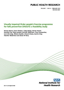 Visually Impaired OLder people's Exercise programme for falls