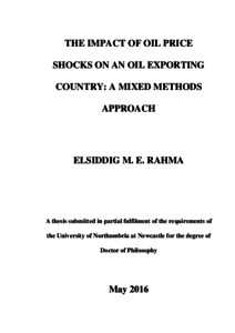 The impact of oil price shocks on an oil exporting country