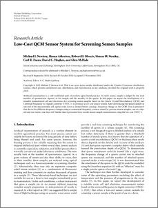 Cost of storing sperm sample