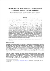 rics apc case study template