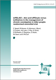 LIFELAX – diet and LIFEstyle versus LAXatives in the