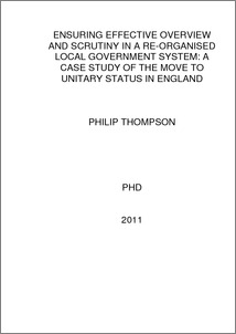 unitary system of government pdf